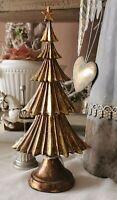 Weihnachtsbaum Antik Gold Deko Shabby Landhaus Vintage Weihnachten