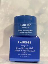 LANEIGE Water Sleeping Mask 'Korean Glass Skin' 10ml Size NEW IN BOX