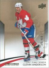 2015-16 UD Upper Deck Team Canada Master Collection GLENN ANDERSON #3 206/499