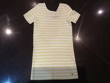 NWT Juicy Couture New & Genuine Girls Age 10 Green Striped Dress With Logo