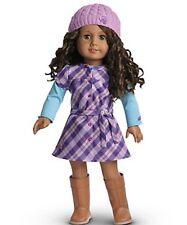 American Girl Pretty & Plaid Dress LN EUC