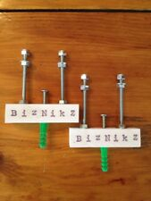 Biznikz Skate Deck Mounts Wall Display Hanger Skateboard 2 Pc. Set (2) Plastic
