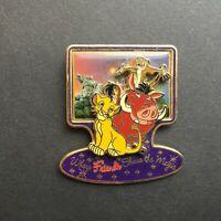 DLR - Where Friends Share the Magic Series - Lion King Disney Pin 22333