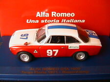 ALFA ROMEO 1600 GTA #97 TARGA FLORIO 1971 RIZZO ALONGI M4 7194 1/43 LIMITED EDIT