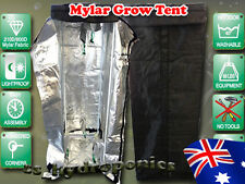 New Indoor Hydroponics Reflective Mylar Grow Tent 0.6m x 0.6m x 1.6m Greenhouse