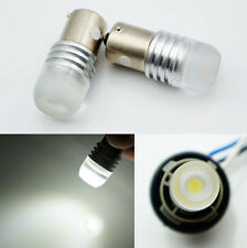 2x 6V 1156 ba15s 1.5W LED SMD White Car Bulb Light Brake/Turn/Tail /Reverse