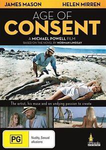 Age of Consent (DVD) James Mason Helen Mirren NEW/SEALED
