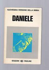 nuovissima versione della bibbia - daniele - edizioni paoline