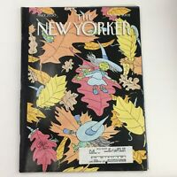 The New Yorker November 4 2002 Full Magazine Theme Cover by Gahan Wilson