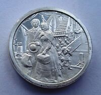 Solid Bronze Medal 1848 Immigration Swelled By Famine and Revolution