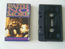 FAITH NO MORE I'M EASY / BE AGGRESSIVE CASSETTE TAPE SINGLE SLASH LONDON UK 1992