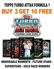 TOPPS TURBO ATTAX F1 FORMULA 1 2020 GOLD/ FOIL/ LIMITED EDITIONS