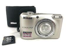Nikon Coolpix L27 Digitalkamera 16 Megapixel Kompaktkamera Kamera SD Card