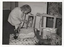 PHOTO Jouet Jeu Poupée Enfant Noël Cadeaux Vers 1960 Chaussures Souliers Fille