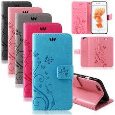 Handy Tasche Für iPhone 6S Hülle Flip Cover Case Schutz Etui Schale Handyhülle