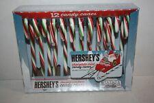 HERSHEY'S 12 Chocolate Mint Candy Cane Box