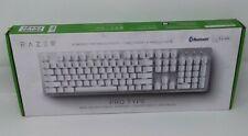 Razer Pro Type White Mechanical Productivity Wireless Keyboard