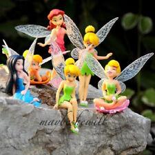 Disney Fée Clochette Tinker Bell Fairies Disney Princess 6pcs Figurine Jouet 6cm