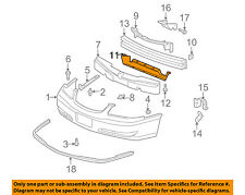 Chevrolet GM OEM 00-05 Impala Front Bumper-Lower Support 10291368