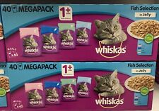 Whiskas 1 Plus Fish Selection In Jelly 40 Pack