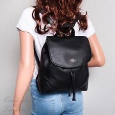 Coach Elle F72645 Leather Backpack - Black