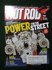 Hot Rod Magazine 2006 September The New Camaro & Challenger Concepts ++