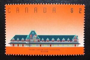 Canada #1182 BABN MNH, Architecture McAdam Railway Station Definitive Stamp 1989