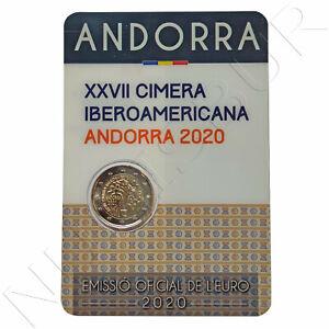 ANDORRA 2 EUROS 2020 XXVII cumbre iberoamericana 70.000 TIRADA