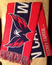 WASHINGTON CAPITALS HOCKEY TEAM SCARF, CAPITAL ONE BANK, 4 FEET LONG, NEW