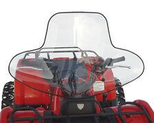 Suzuki ATV Windshield - Clear, no headlight cut out