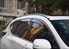 Window Sun Visor Wind Rain Deflector Guard For 2017-2018 Honda CRV CR-V Quality