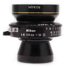 Nikon 120mm f5.6 Nikkor AM * ED Large Format Lens