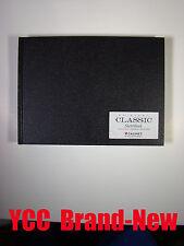 Cachet Classic Sketch Book-106s' 11x8 in (27.9x20.3 cm) Black hard cover #824265