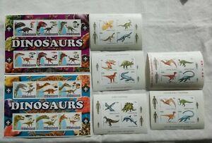 Block Sammlung 18 Tiere Urzeittiere Dinosaurier Dinos T-Rex Flugsaurier