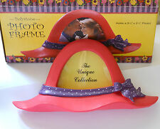 Red Hat Photo Frame / Table Picture Frame / Red Hat Polystone