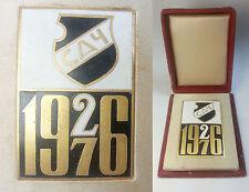 YUGOSLAVIA 1926-1976  Cacak City Sports Association  commemorative plaque in box