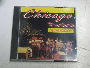 CD Chicago Live in concert 3 titres