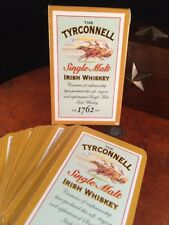 Vtg The Tyrconnell Single Malt Irish Whiskey Advertisement Playing Cards Deck Br