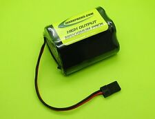 6v 2500 AA HUMP Rx BATTERY PACK 4 RC TRUCKS / JR / MADE IN USA / 2505H-U