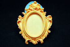 Mirror Frame, Silicone Mold Chocolate Polymer Clay Jewelry Soap Melting Wax