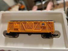Bachmann N Scale Freight Train Car, UNION PACIFIC 40' Stock Car #47747