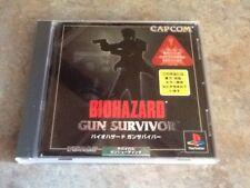 BIoHazard Gun Survivor Bio Hazard PS1 Japan Import  *USA Seller*