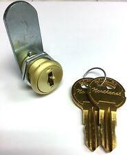 """5/8"""" Two Keypull BRASS Cam Lock with Two Keys"""