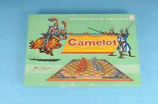 VINTAGE 1958 PARKER BROTHERS CAMELOT KNIGHTS & MEN BOARD GAME 100% COMPLETE