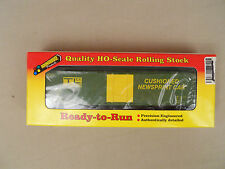HO SCALE ROUNDHOUSE TRANSPORT LEASING 50' BOX CAR READY-TO-RUN
