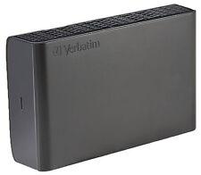 "Verbatim Store 'n' Save 3 TB External 3.5"" Hard Drive -47673 HDD (Hard Disk Drive)"
