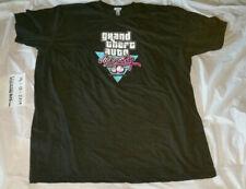 Used Men's XXL GTA Vice City 10th Anniversary Shirt Rockstar Warehouse HU HOLI