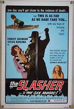 THE SLASHER AKA SO SWEET, SO DEAD FF ORIG 1SH MOVIE POSTER ITALIAN GIALLO (1974)