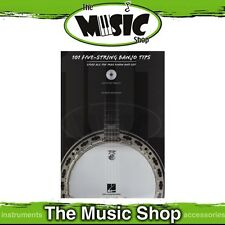 New 101 5-String Banjo Tips Music Tuition Book & CD