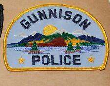 GUNNISON POLICE Colorado CO PD Colo patch
